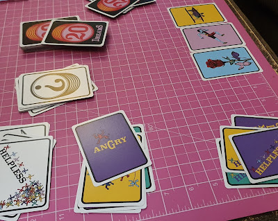 20 Dreams family game layout on table