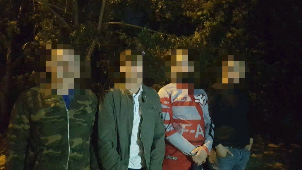 Detienen a cuatro hombres con granadas y fentanilo en Culiacán, uno es gringo