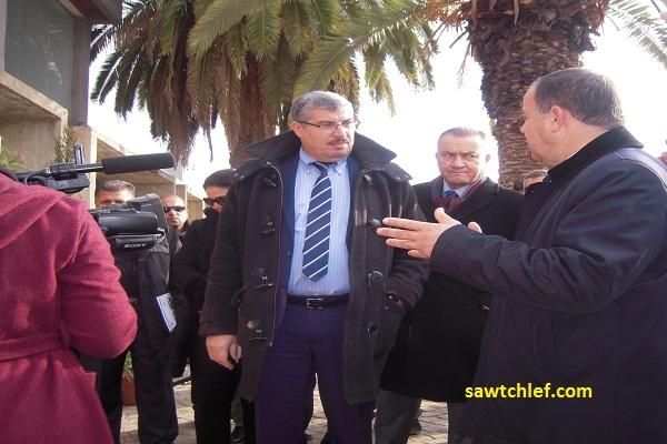مدير الديوان يشرف على فعاليات الصالون الولائي للتكوين بالشلف