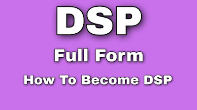 Full Form Of DSP