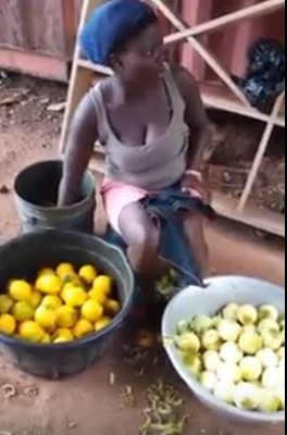 2 women arrested over sale of 'artificial coloured oranges' in Ghana (Video)