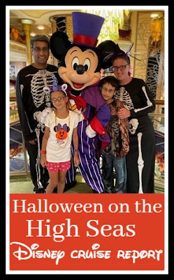 Disney Halloween on the High Seas trip report review