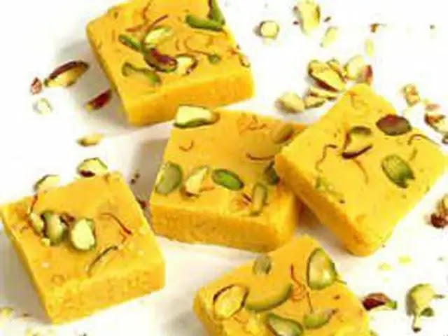Moong dal ki barfi – How to make Moong dal ki barfi, Indian sweets