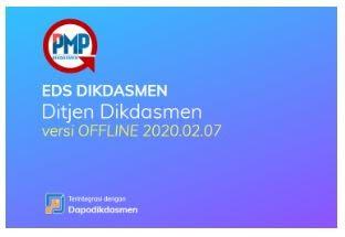 Rilis Perbaikan Sistem Informasi PMP Patch EDS 2020.02.07