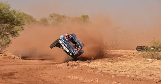 Toby Price at Finke Desert Race.