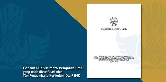 Contoh Silabus Mata Pelajaran SMK yang telah diverifikasi oleh Tim Pengembang Kurikulum Dit. PSMK