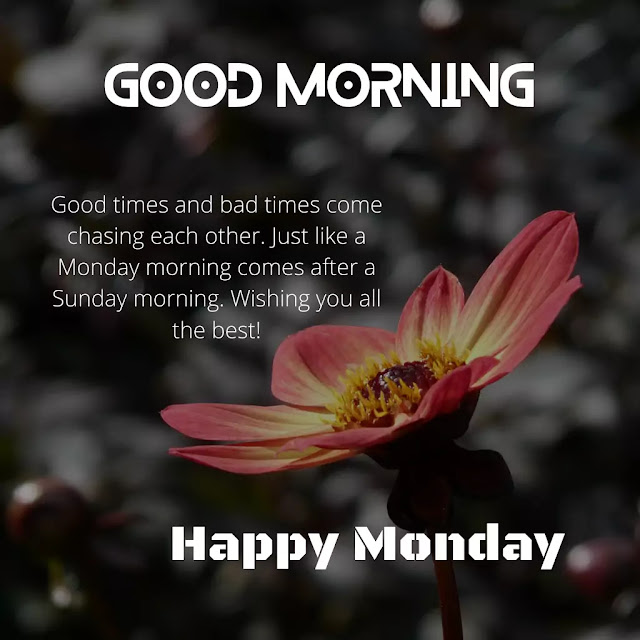 Good Morning Monday Images And Quotes