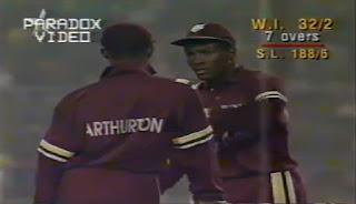 West Indies vs Sri Lanka 2nd Semi-final Hero Cup 1993 Highlights
