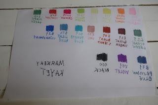 zestaw 18 markerów dwustronnych Kayet z Biedronki