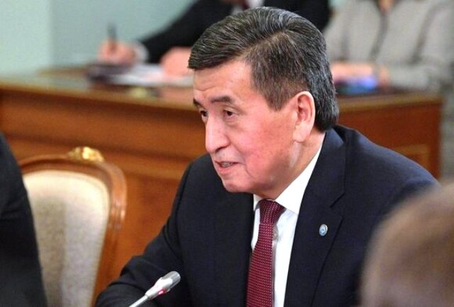 The President of Kyrgyzstan is isolated after returning from Moscow