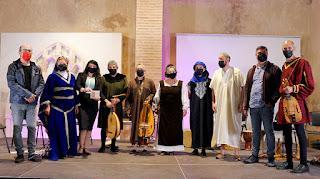 Concert Menestrils Agraïment a Mara Aranda  Directora CIMM Centre Internacional de Música Medieval de la Valldigna