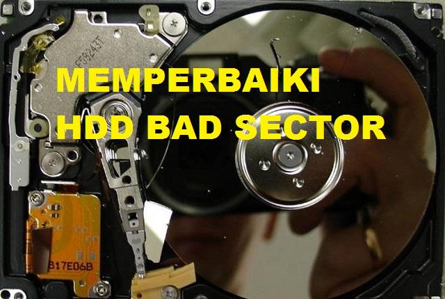 Cara Memperbaiki Hardisk Bad Sector dengan Mudah