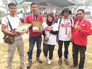PMI Kota Solok Raih Juara Umum HUT PMI ke-74