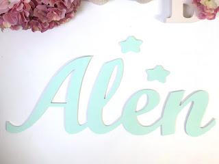 Nombres decorativos para bebes y niños