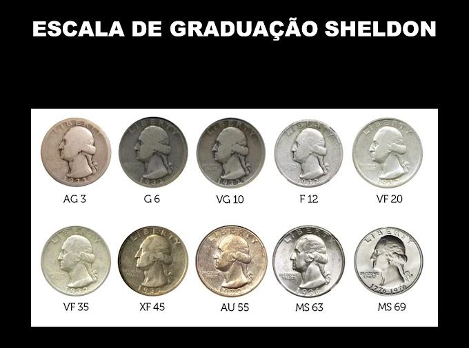 ESCALA DE GRADUAÇÃO SHELDON - Confira as tabelas de graduação.