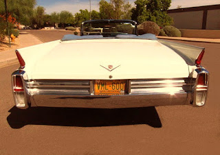 1963 Cadillac DeVille Convertible Rear