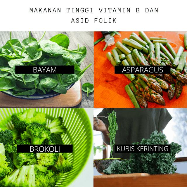 makanan tinggi vitamin