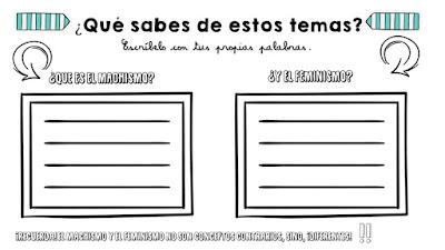 Creaduca: EDUCAR EN EL FEMINISME