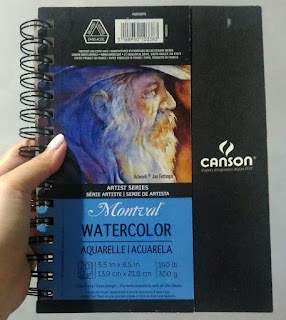 canson montval watercolor pad paper 300 gsm lord of the rings old man face journal sexyfoosa misterart joe fettingis