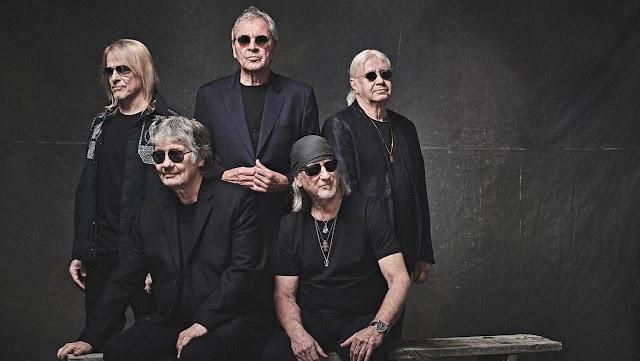 Deep Purple com novo álbum em novembro