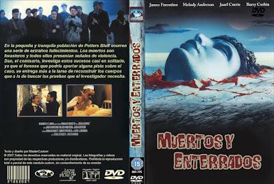 Carátula dvd: Muertos y enterrados / Dead & Buried