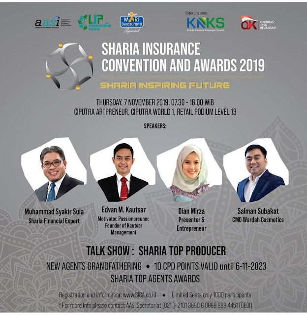 Sharia Insurance convention and Award (SICA) 2019