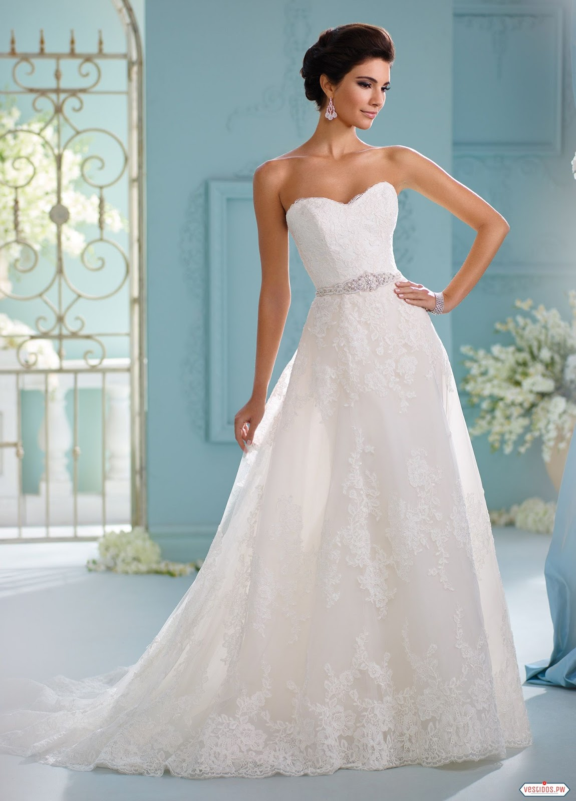 Nice Vestidos De Novia Sencillos Gallery - All Wedding Dresses ...
