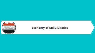 Economy Of Kullu District