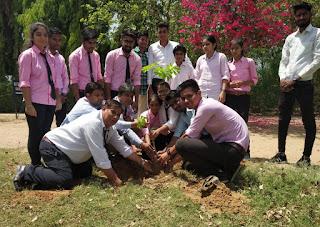 पोदार शिक्षण संस्थाओं में मनाया विश्व पृथ्वी दिवस!