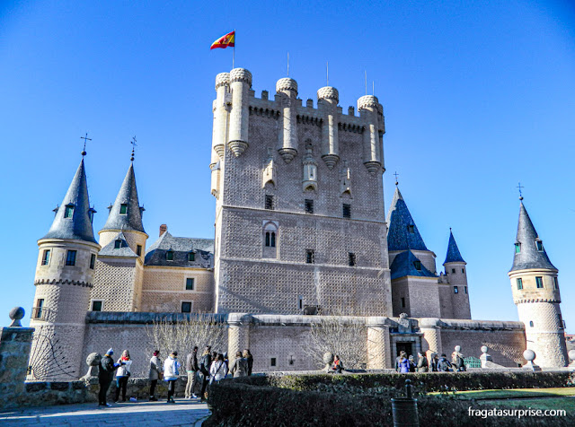 Torre de João II, no Alcázar de Segóvia