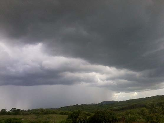 Um verdadeiro dilúvio caiu no município de Amparo, no Cariri paraibano