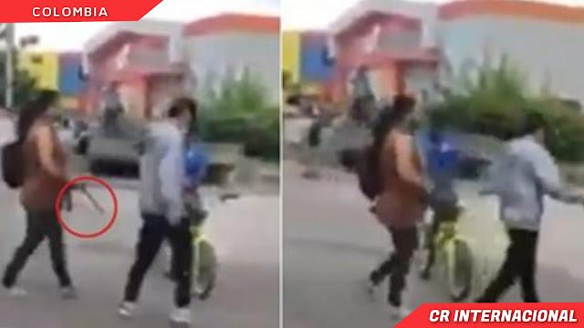un joven fue sacado por su madre con un cinturón, hecho que quedó registrado en un video difundido en redes sociales