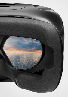 HTC VIVE VR Viewing angle