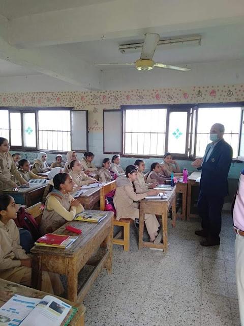 تعليم الفيوم . إحالة مسئول المقصف المدرسي بمدرسة القاياتي للتحقيق