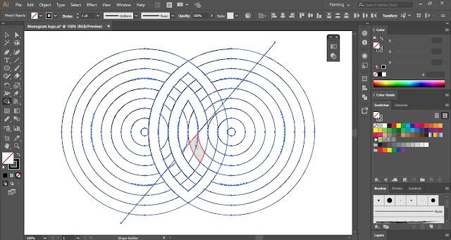 Monogram Logo in Adobe Illustrator