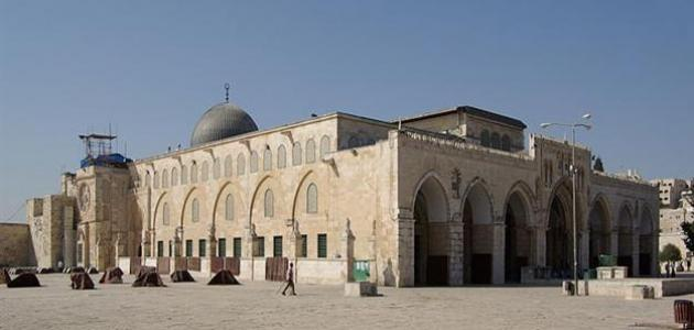 Who built the Al-Aqsa Mosque?