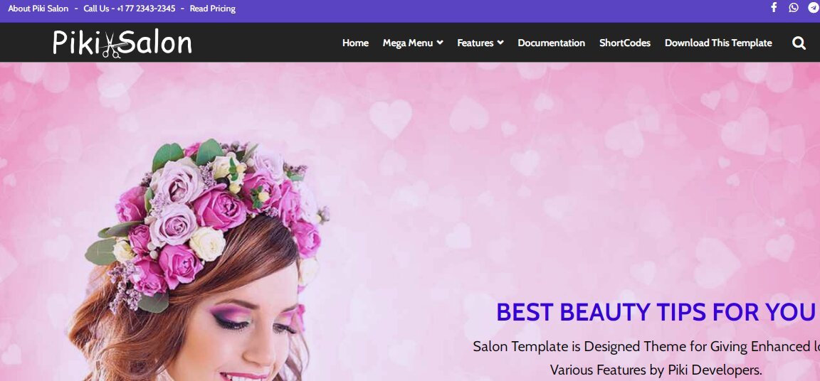 Piki Salon is a premium public Barber blog themes includes suitable widgets and new settings that are been designed for improves the beauty of superb institution websites.
