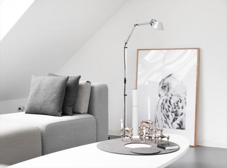Kerzenlicht sorgt für gemühtlichkeit - hygge, ein dänischer Lifestyletrend.