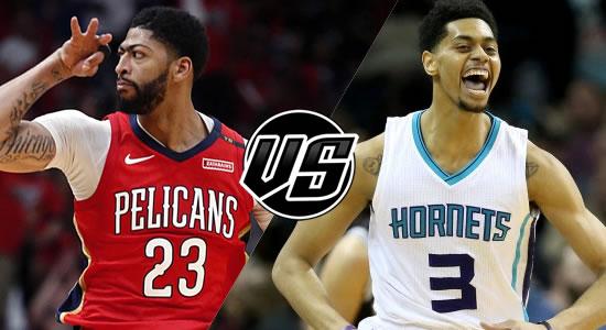 Live Streaming List: New Orleans Pelicans vs Charlotte Hornets 2018-2019 NBA Season