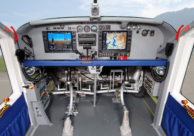 Pilatus PC-6 cockpit