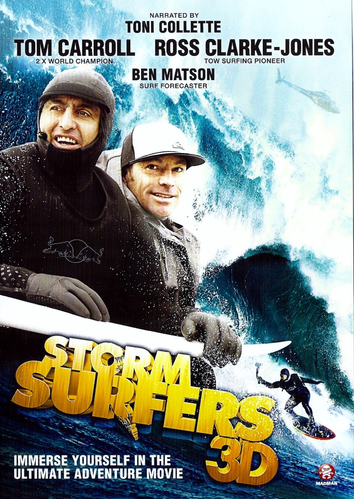 Storm Surfers 3D 2012 - Full (HD)