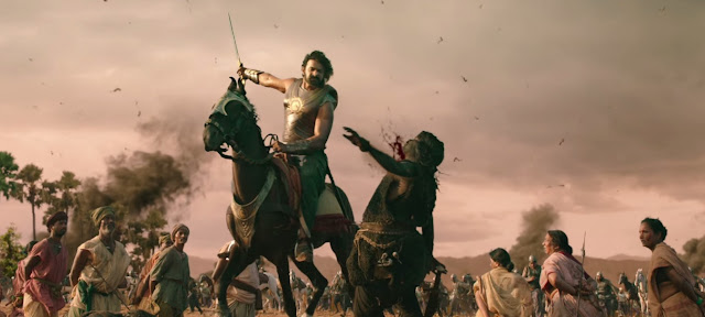 Baahubali Movie Posters animation