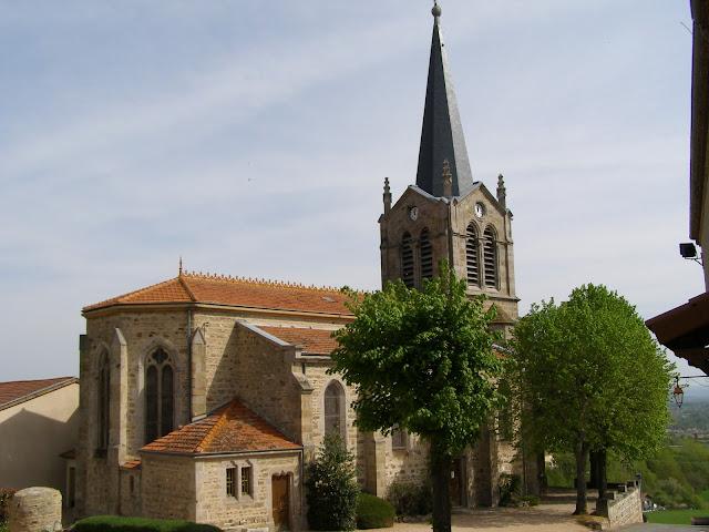 église de Marcoux