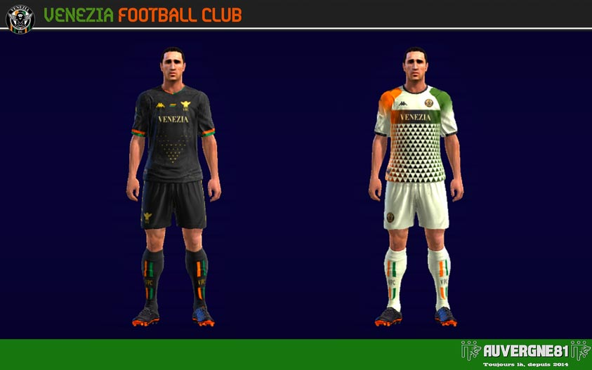 Kits Venezia FC 2021-2022 For PES 2013