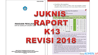 Juknis Raport K13 SD Revisi 2018