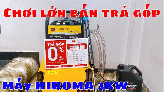 Máy rửa xe chính hãng HIROMA Công suất 3kw Model DHL - 131 0