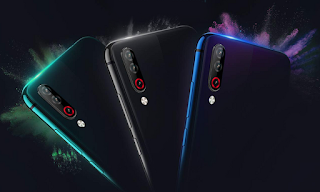 Supposed LG W appears in real picture with three rear cameras and blue gradient tone