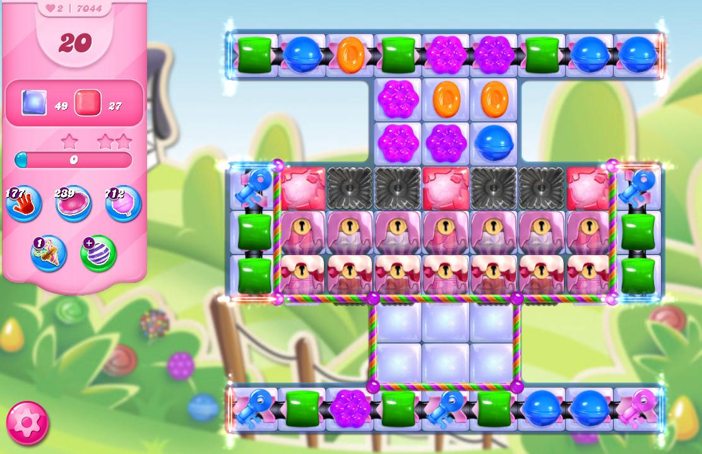 Candy Crush Saga level 7044