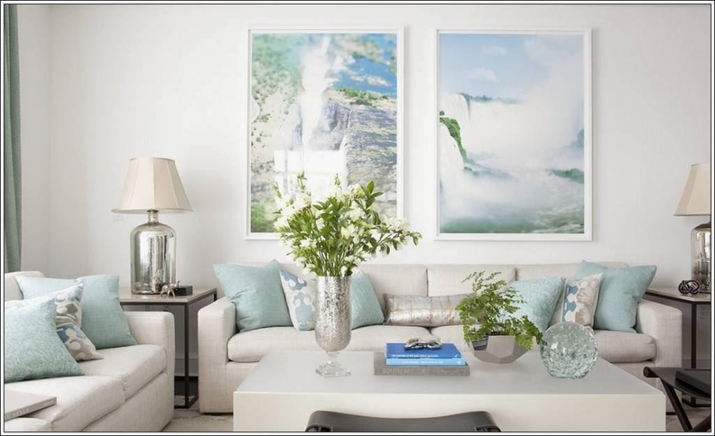 D coration salon en pastels d coration salon d cor de salon - Decoration salon de the ...
