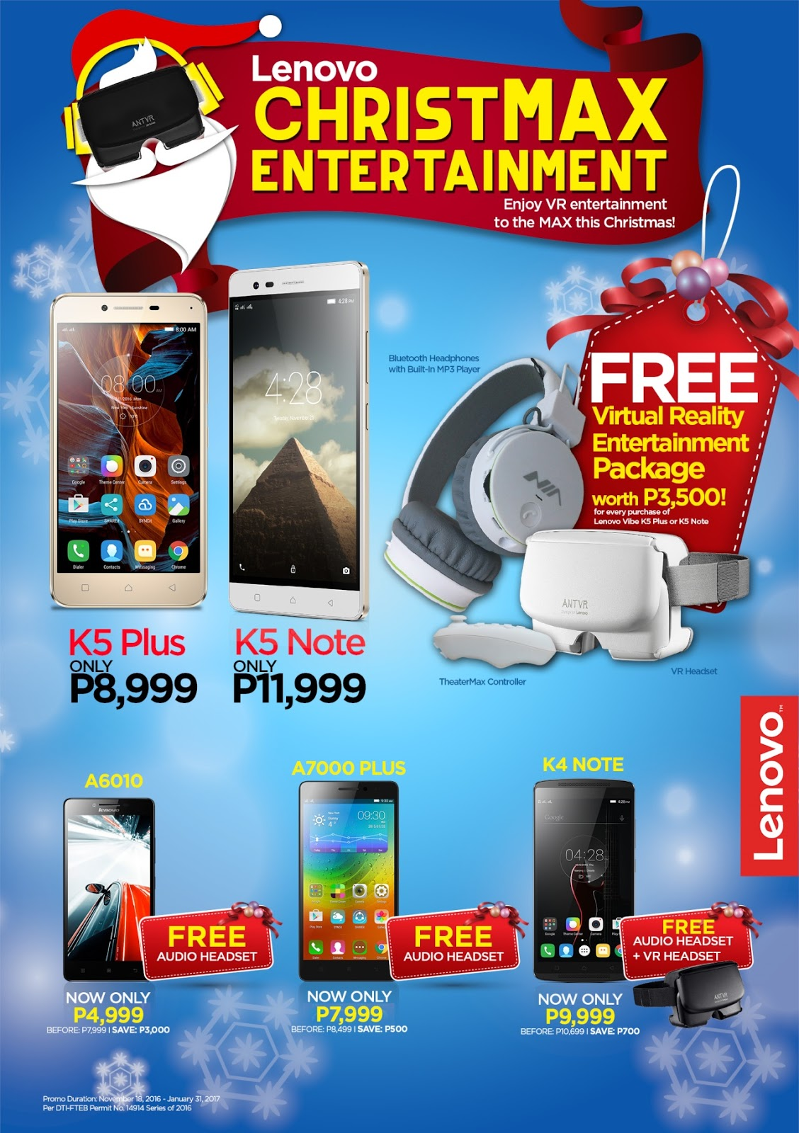 Lenovo ChristMax Entertainment Promo
